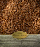 Ground Garam Masala labeled Royalty Free Stock Image