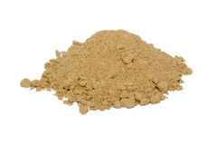 Ground ginger Stock Photography