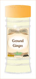 Ground Ginger Herb Stock Photo