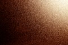 Ground glass texture in brown with light in corner. Abstract background and pattern for designers Stock Image