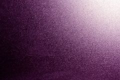 Ground glass texture in purple tone with light in corner. Abstract background and pattern for designers Royalty Free Stock Image