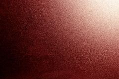 Ground glass texture in red with light in corner. Abstract background and pattern for designers stock images