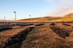 Ground of Iceland Stock Photo