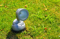 Ground lantern. On the green grass Royalty Free Stock Images