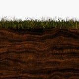 Ground layers Stock Photo