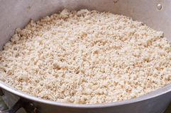 Ground maize for tamales Royalty Free Stock Photos