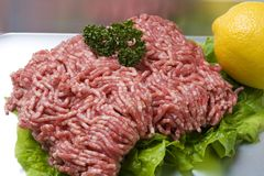 Ground Meat Stock Photo