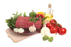 Ground meat. Stock Photography