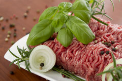 Ground meat Stock Photography