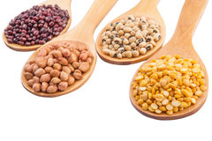 Ground Nut, Bean And Lentils II Stock Photo