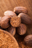Ground nutmeg Stock Image