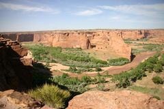 Ground Of The Canyon De Chelly Stock Images