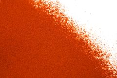 Ground paprika background Stock Image