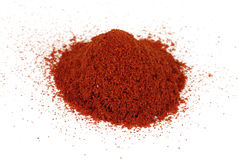 Ground paprika, pepper Stock Photo
