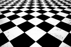 Ground pattern chess Royalty Free Stock Images