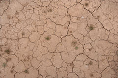 Ground pattern with cracks Stock Images