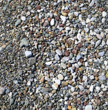 Ground pebbles Royalty Free Stock Images