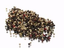 Ground pepper Stock Images