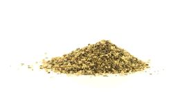 Ground pepper on white Royalty Free Stock Photography