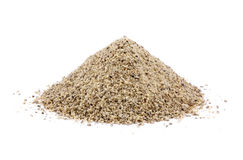 Ground white pepper Stock Photos