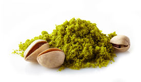 Ground pistachios Royalty Free Stock Image
