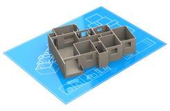 The ground plan Stock Image