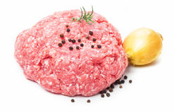 Ground pork, minced meat Stock Photos