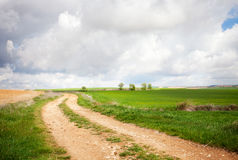 Ground road Stock Images