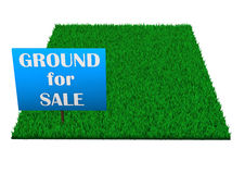 Ground For Sale Royalty Free Stock Photography
