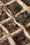 Ground for Seeding. A ground prepared for seeding Royalty Free Stock Photo