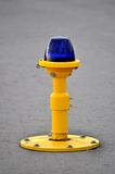 Ground side lamp taxiway Stock Images