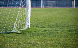 Ground of soccer football royalty free stock image