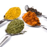 Ground spices Stock Image