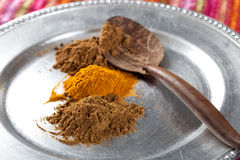 Ground spices Stock Images