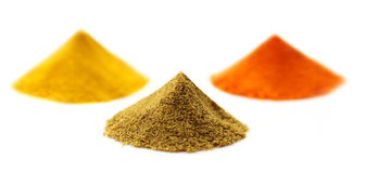 Ground spices Royalty Free Stock Image
