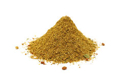 Ground spices and herbs Royalty Free Stock Image