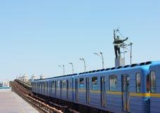 Ground subway station Stock Image