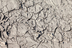 Ground surface with cracked Royalty Free Stock Image