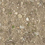 Ground texture. Of stones and dirt stock image