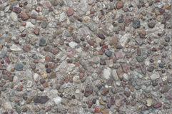 Ground texture. Concrete ground texture with stones stock photography