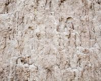 Ground texture. Soil surface. Landslip landslide. Close-up stock photos