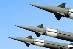 Ground to air missile Royalty Free Stock Images