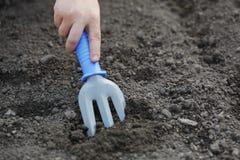 ground  tool Royalty Free Stock Image