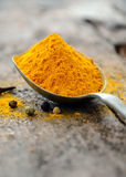 Ground turmeric Royalty Free Stock Photo