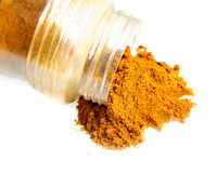 Ground Turmeric Royalty Free Stock Image