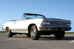Ground up view 1966 Classic Car Royalty Free Stock Photo