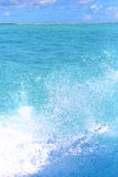 Ground wave  in froath   foam  the sea   sunny day Royalty Free Stock Photos