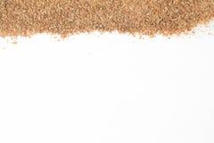 Ground Wheat Frame. Trigo para quibe. Kibbeh Royalty Free Stock Photography