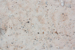 Ground white, filled with gravel and sand. Ground white, filled with gravel Royalty Free Stock Photography