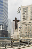 Ground Zero Cross - 2005 Royalty Free Stock Image
